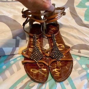 Sam Edelman Leather Sandals Sz 9.5